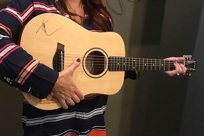 Rafflepages.com - Tim McGraw Authentic Autographed Baby Taylor Guitar to benefit Pi Kappa Alpha