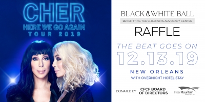 Rafflepages.com - Win a Night with Cher and help support The Center for Children and Families